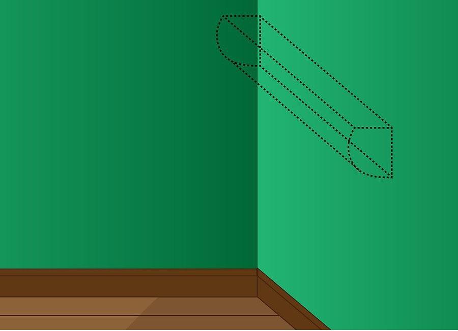 نصب کولر گازی اسپلیت مرحله ۱