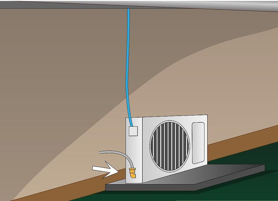 نصب کولر گازی اسپلیت مرحله ۱۰