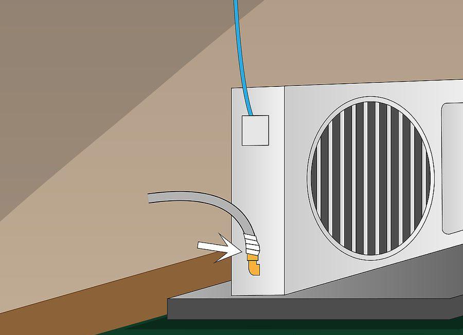 نصب کولر گازی اسپلیت مرحله ۱۲