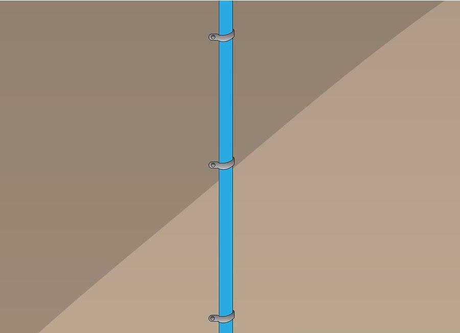 نصب کولر گازی اسپلیت مرحله ۱۳