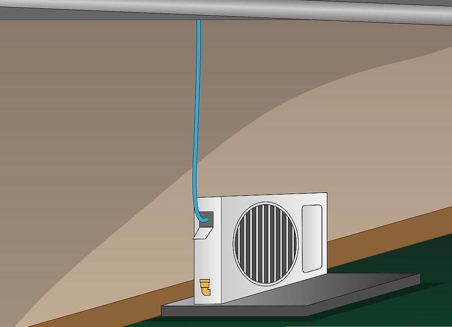 نصب کولر گازی اسپلیت مرحله ۹